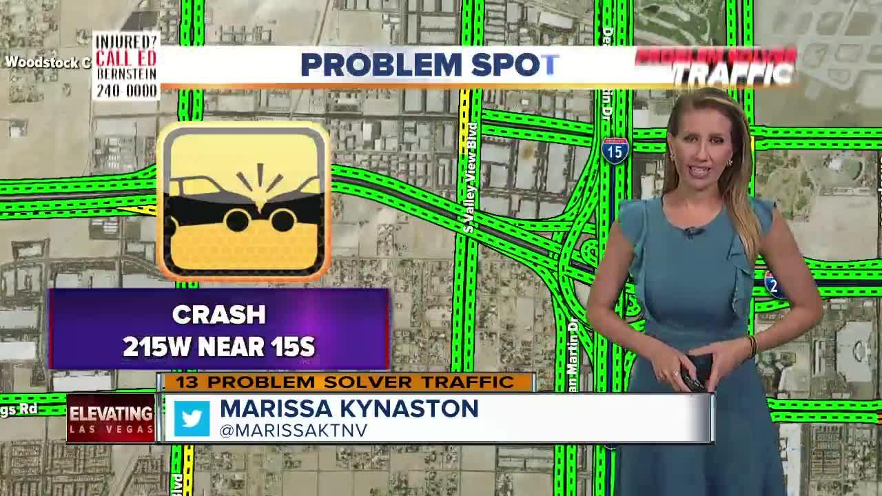 Fatal crash at 215 beltway and 1-15