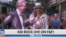 Kid Rock Says 'Screw That Joy Behar B***h' On 'Fox & Friends'