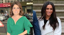 Princess Eugenie takes style pointers from Duchess of Sussex, steps out in same pair of shoes