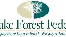 Wake Forest Bancshares, Inc. Announces Second Quarter Results