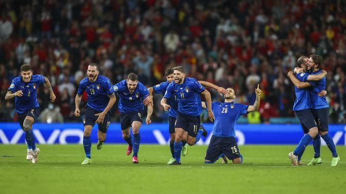 Final Euro 2020 / 2021 : Shearer Prediksi Inggris vs ...