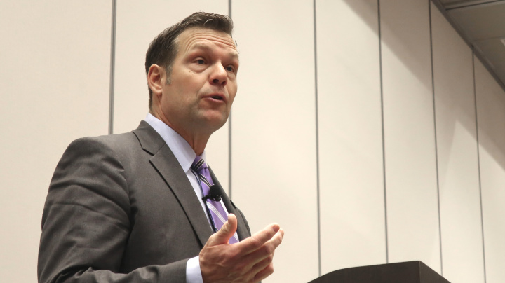 Trump ally Kobach loses Kansas Senate primary