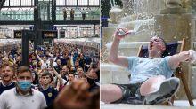 Scotland fans descend on London ahead of crunch Euros clash at Wembley