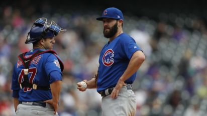 Montero calls out Cubs pitchers after Nats run wild