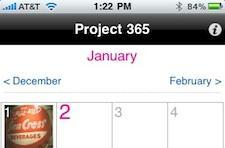 Can the Project 365 iPhone app make you a better photographer?