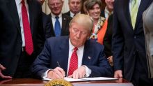 Trump makes heavy use of executive orders despite past criticism