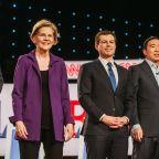 Rising Warren Weathers Democratic Debate Pile-On as Biden Skates