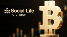 Social Life Network (OTC: WDLF) Now Accepting Bitcoin as Payment from TBI Licensees, Tapp Says
