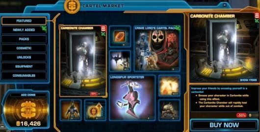 Star Wars: The Old Republic transmits free-to-play video