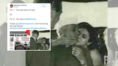 MLA Shares Pic of Nehru with Woman to Malign, But It's His Niece!