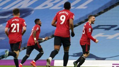 0-2. El United cercena la racha del City