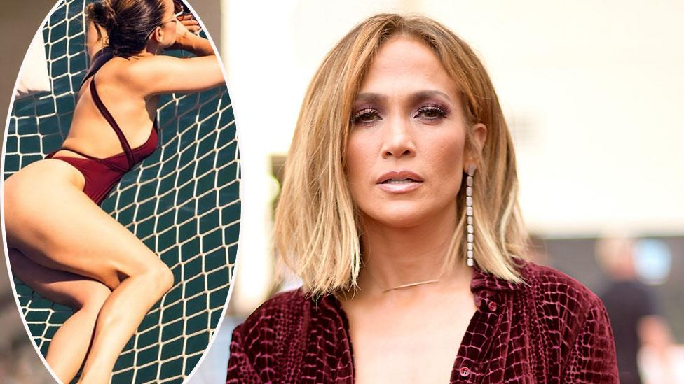 JLo, 50, causes a stir in latest swimsuit photo