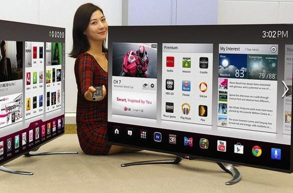 LG's 2013 Google TV sets to come in more sizes, fresher designs