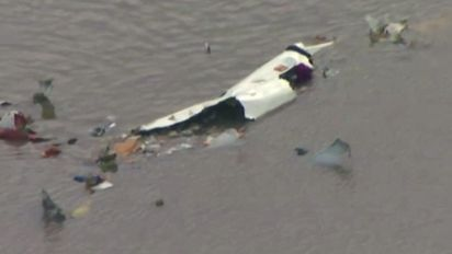 Cargo plane crashes in Texas with 3 aboard