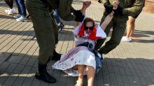 Fast hundert Menschen bei neuen Frauenprotesten in Belarus festgenommen