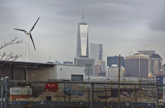 New York City's first commercial wind turbine proves its worth