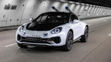 Alpine A110 SportsX is a lifted rally-inspired design exercise that's ready to ski
