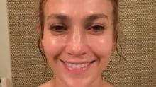 Jennifer Lopez se cansa de que la acusen en Instagram de hacerse retoques
