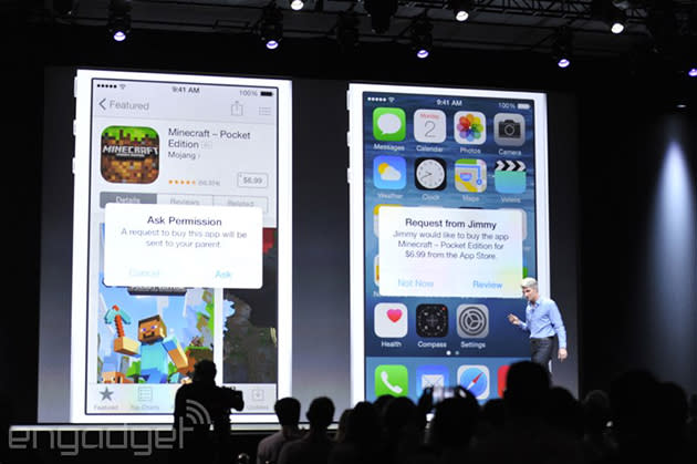 Family Sharing on iOS spreads photos, purchases and more amongst relatives