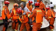 Saved from the floodwaters: Chinese village in path of Yangtze deluge