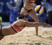 Americans ousted by Canada in Olympic beach volleyball