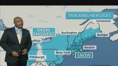 Winter storm 'Hercules' heads to Northeast