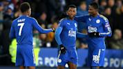 Historic VAR goal helps Leicester march on