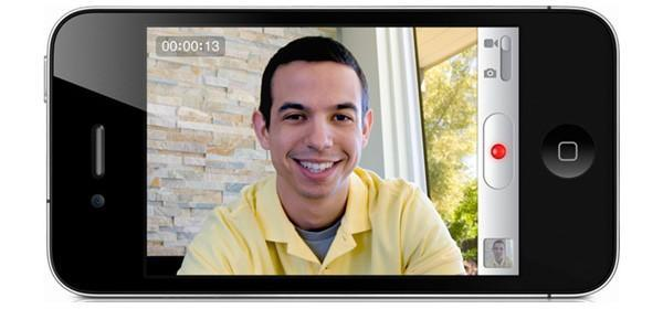 iPhone 4 does 720p HD video, iMovie