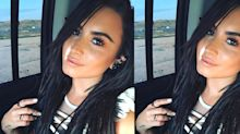 A Twitter debate's brewing over Demi Lovato's hair