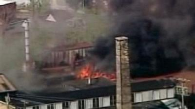 3-Alarm Fire Breaks Out At South Side Factory
