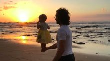Joe Wicks criticised for holding baby daughter with one hand in 'risky' Instagram photo
