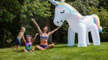 We Need This 7-Foot-Tall Unicorn Sprinkler