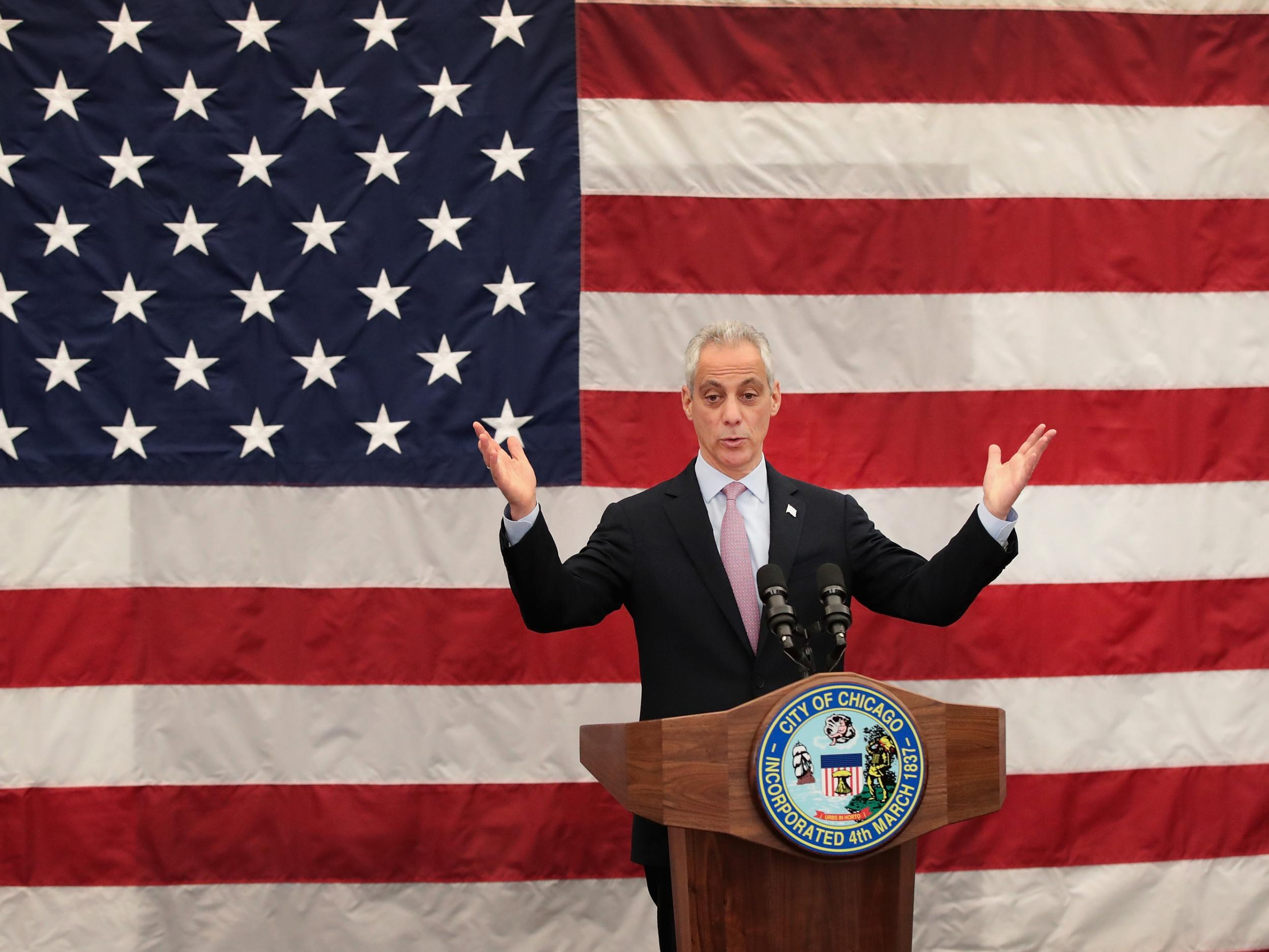 Chicago mayor declares city 'Trump-free zone' after US President declares he will scrap DACA immigration programme
