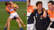Giants reveal shocking injury from 'dangerous' tackle cleared by the AFL