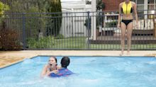 Neighbours pool horror as Piper Willis nearly drowns