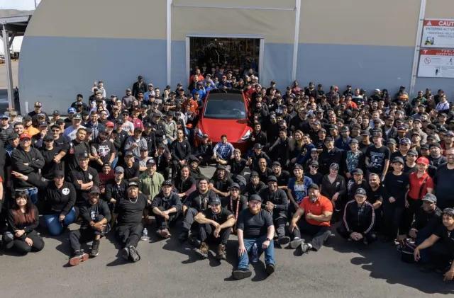 Tesla's one millionth car is a Model Y