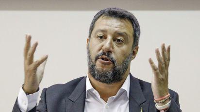 Salvini: voto subito per manovra coraggiosa senza timbro Ue
