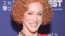 Kathy Griffin says 'Trump is going to go down in a spectacular way'