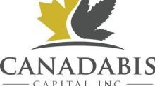 CanadaBis Capital Inc. Provides Annual Corporate Update