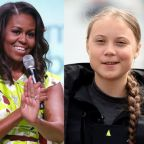 Michelle Obama offers words of encouragement to Greta Thunberg after Donald Trump attack