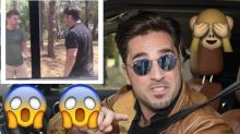 David Bustamante agrede a un paparazzi