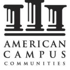 American Campus Communities, Inc. Reports First Quarter 2021 Financial Results