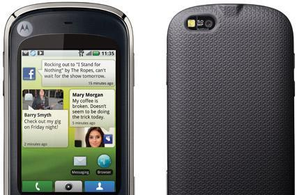 Motorola CLIQ XT / Quench joins the Android family at MWC
