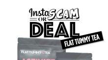 Does The Tummy Flattening Tea Khloé Kardashian Promotes on Instagram Actually Work?