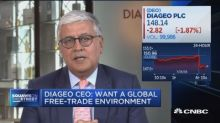 Diageo CEO: Trade tensions have minimal impact on company