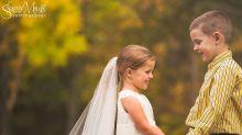 Garotinha realiza sonho de se casar antes de realizar cirurgia no coração