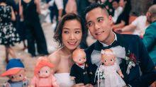 卓韻芝結婚從簡!沒名牌鑽戒沒伴娘裙連婚紗都超簡約!
