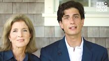 JFK's Daughter Caroline Kennedy and Her Son Jack Schlossberg Speak Out at DNC
