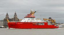 Sir David Attenborough polar research ship set to begin sea trials