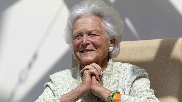 Exclusive interview with Barbara Bush